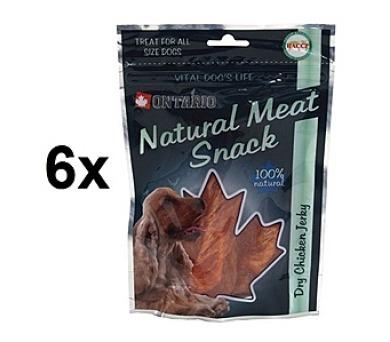 ONTARIO Dry Chicken Jerky 6 x 70g