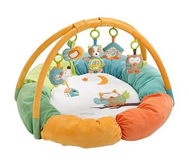Hrací deka s hrazdou Baby Fehn Forest activity plyšová + DOPRAVA ZDARMA