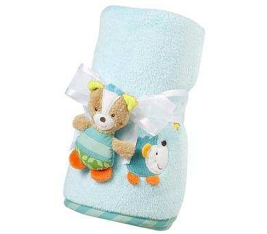 Dětská deka Baby Fehn Forest Ježek plyšová