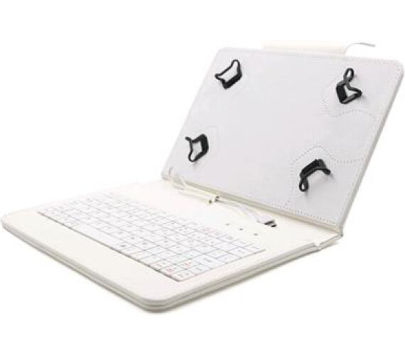 """C-TECH PROTECT pouzdro univerzální s klávesnicí pro 7""""-7,85"""" tablety"""