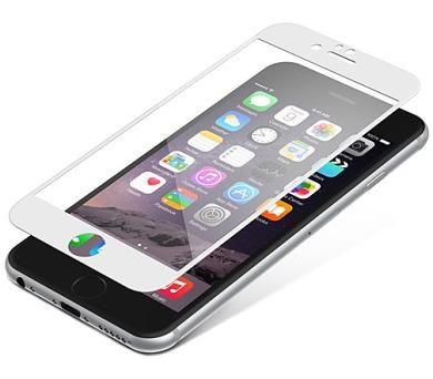 InvisibleSHIELD Glass Contour pro Apple iPhone 6 / 6S - bílý rám + DOPRAVA ZDARMA