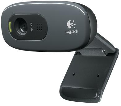 Logitech HD Webcam C270 - černá
