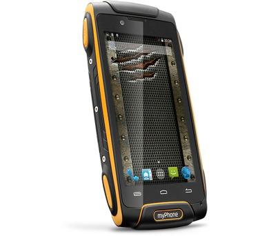 myPhone Hammer AXE 3G oranžovo-černý