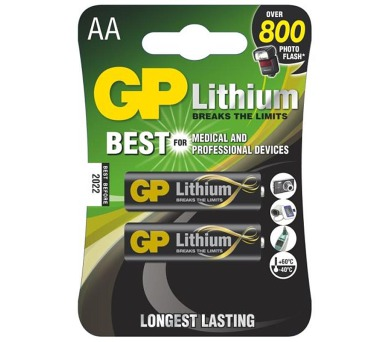 GP baterie lithiová FR6 (AA