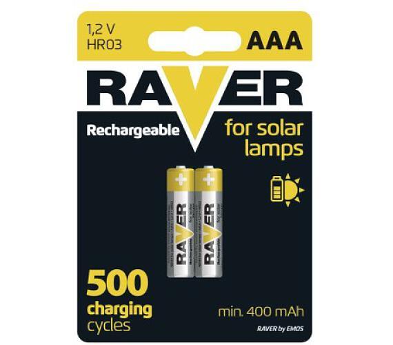 Raver baterie nabíjecí HR03 (AAA)
