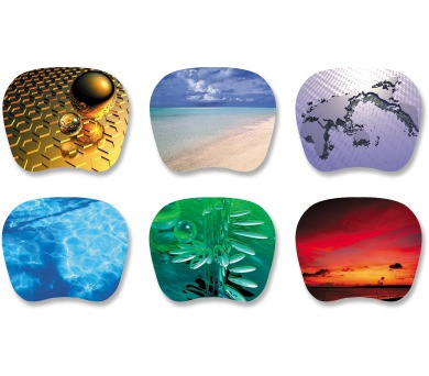 T`nB Ultra Thin Mouse Pads 6 Design TSUF