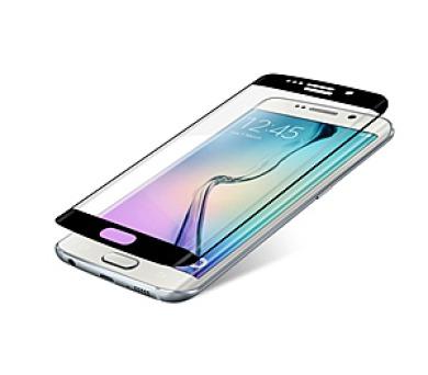 InvisibleSHIELD Glass Contour pro Samsung Galaxy S6 Edge - černý rám + DOPRAVA ZDARMA
