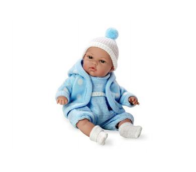 Panenka/miminko plačící modré vonící 33cm měkké tělo na baterie v sáčku + DOPRAVA ZDARMA