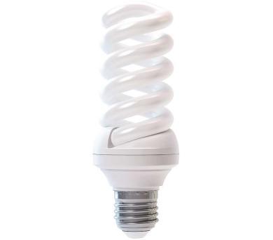Úsporná žárovka FULL SPIRAL VALUE E27 23W studená bílá