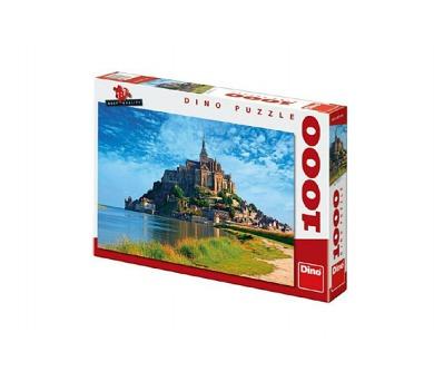 Puzzle Mont Saint Michel 66x47cm 1000dílků v krabici 37x27x5cm + DOPRAVA ZDARMA