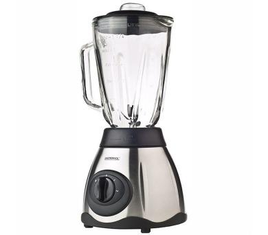 Gastroback 40998-Profi Vital Stolní nerez mixer se skleněnou 1,5l nádobou,500W + DOPRAVA ZDARMA