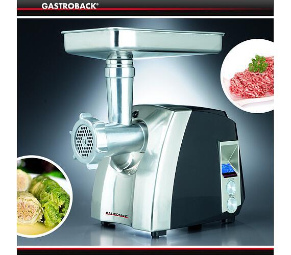 Gastroback 41406-Gastro Profi Mlýnek na maso + DOPRAVA ZDARMA