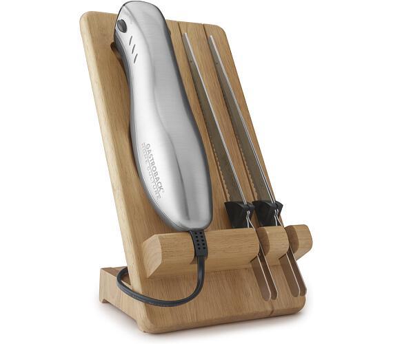 Gastroback 41600-Elektrický nůž se stojanem -2 druhy ostří,120W + DOPRAVA ZDARMA