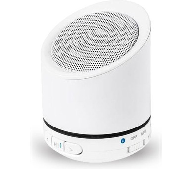 Kruger&Matz Quer KOM0806W Bluetooth reproduktor s FM rádie a MP3 přehrávačem - bílý