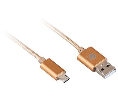 GoGEN USB A/microUSB B + DOPRAVA ZDARMA