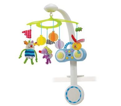 Kolotoč nad postýlku Taf Toys s MP3 přehrávačem