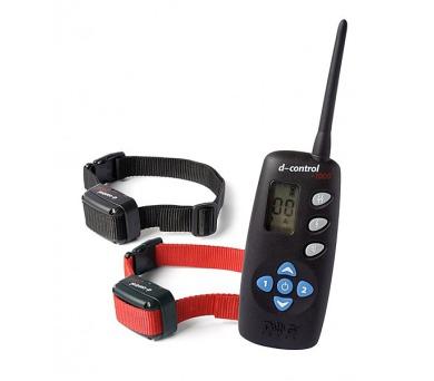 Obojek elektronický/výcvikový Dog Trace d-control 1002 - pro 2 psy + DOPRAVA ZDARMA