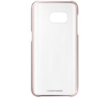 Samsung Clear Cover pro Galaxy S7 (EF-QG930CZ) - růžový/průhledný + DOPRAVA ZDARMA