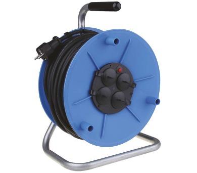 Gumový prodlužovací kabel na bubnu 25M 4Z SCHUKO 1,5mm + DOPRAVA ZDARMA