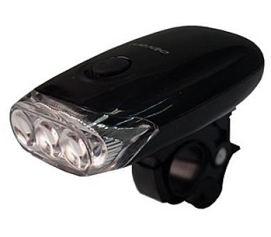 kolo Olpran 3 LED přední - černá