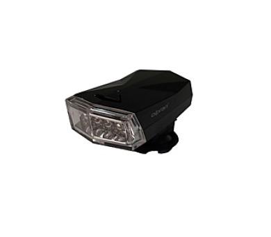 kolo Olpran 4 LED přední - černá