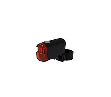 kolo Olpran 1 super červené LED zadní - černá
