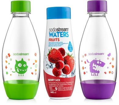 Sodastream Dětský set 2 lahve Příšerky + sirup