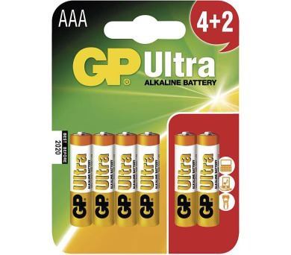 GP Ultra Alkaline LR03 (AAA)