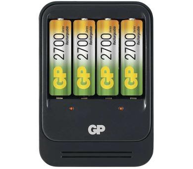 GP nabíječka baterií PB570 + 4AA NiMH2700 + DOPRAVA ZDARMA