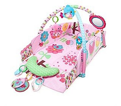 Hrací deka s hrazdou Bright Starts PIP Sweet Songbirds ™