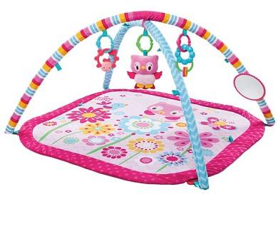 Hrací deka s hrazdou Bright Starts PiP Fancy Flowers™