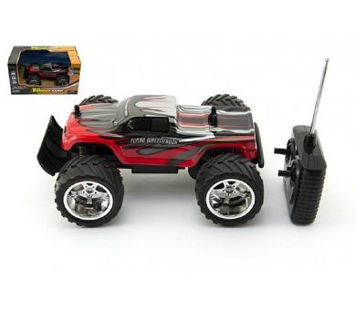 Auto RC velká kola plast 23cm na vysílačku na baterie v krabičce + DOPRAVA ZDARMA