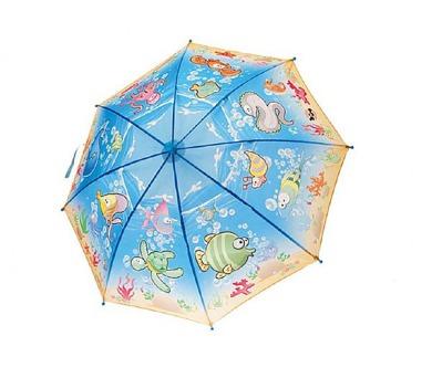 Deštník Mořský svět 70x40cm vystřelovací v sáčku