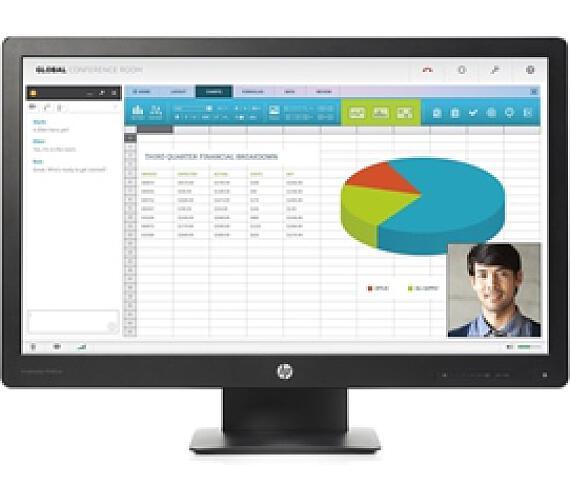 """Monitor HP P240va 23,8"""",LED"""