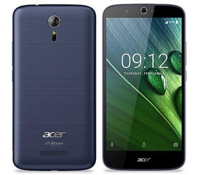 Acer Liquid Zest Plus LTE - modrý