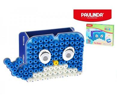Mozaika vodní perly 10x8mm 110ks stojánek na tužky velryba s doplňky v krabičce Paulinda + DOPRAVA ZDARMA