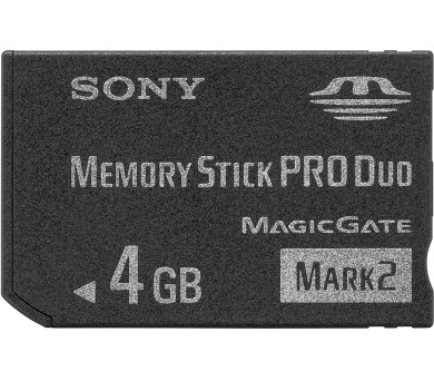 Memory Stick PRO DUO Mark2 4GB SONY,MSMT4GN