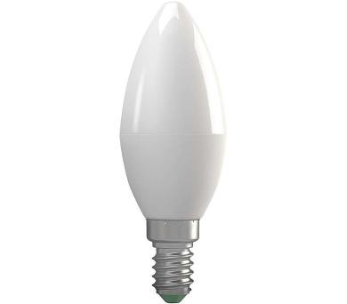 LED žárovka Candle 6W E14 teplá bílá