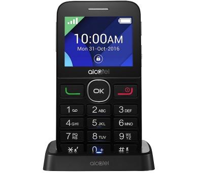 Mobilní telefon ALCATEL 2008G - černý/stříbrný