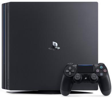 Sony PlayStation 4 PRO 1TB - černý