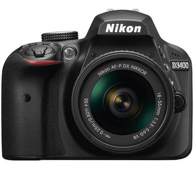 Nikon D3400 + AF-P 18-55 VR + 70-300 VR + ZDARMA powerbanka Nikon + DOPRAVA ZDARMA