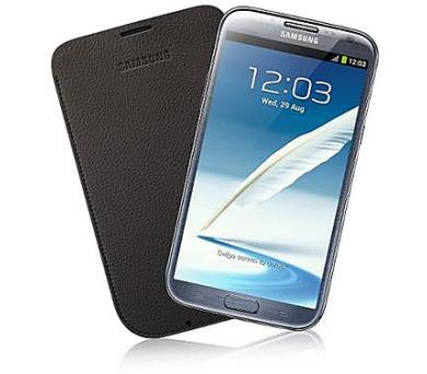 Samsung kožené pouzdro EFC-1J9LDE pro Galaxy Note2 N7100 Dark Brown + DOPRAVA ZDARMA