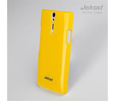 JEKOD Shiny Pouzdro Yellow pro Sony LT26i Xperia S