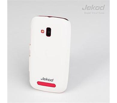 JEKOD Super Cool Pouzdro White pro Nokia Lumia 610