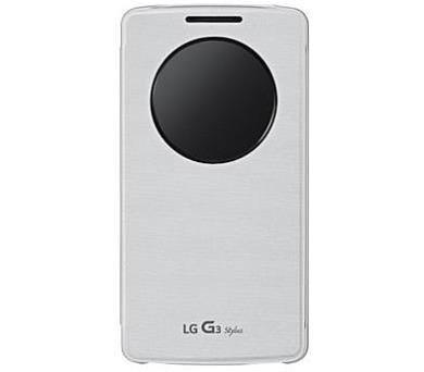 LG QuickCircle pouzdro CCF-440G pro LG G3 Stylus White + DOPRAVA ZDARMA