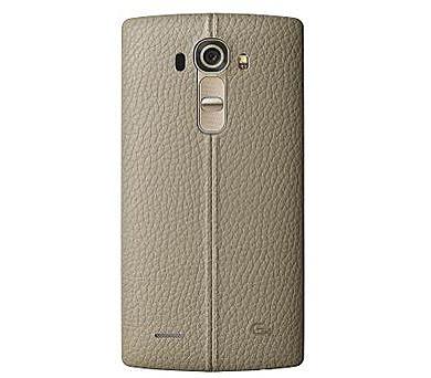 LG Kožený zadní kryt CPR-110 pro LG G4 Beige + DOPRAVA ZDARMA