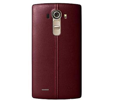 LG Kožený zadní kryt CPR-110 pro LG G4 Burgandy Red + DOPRAVA ZDARMA