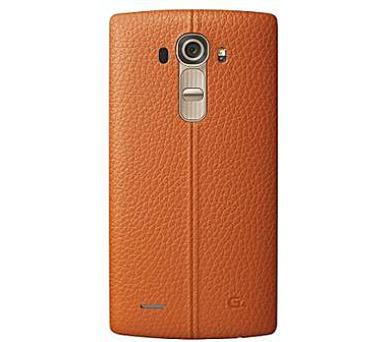 LG Kožený zadní kryt CPR-110 pro LG G4 Orange + DOPRAVA ZDARMA