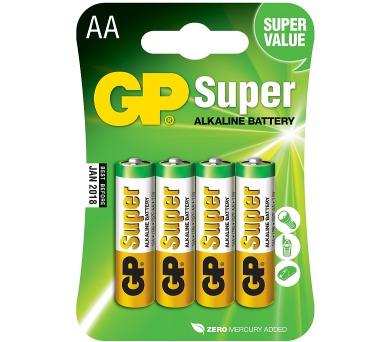 Alkalická tužková baterie GP Super AA