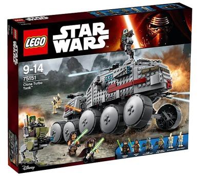 Stavebnice Lego® Star Wars TM 75151 Clone Turbo Tank™ - Turbo tank Klonů